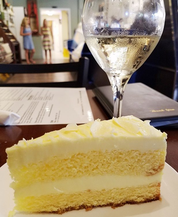 Limoncello cake at Pro's Epicurean Market & Cafe, Cary - nctriangledining.com