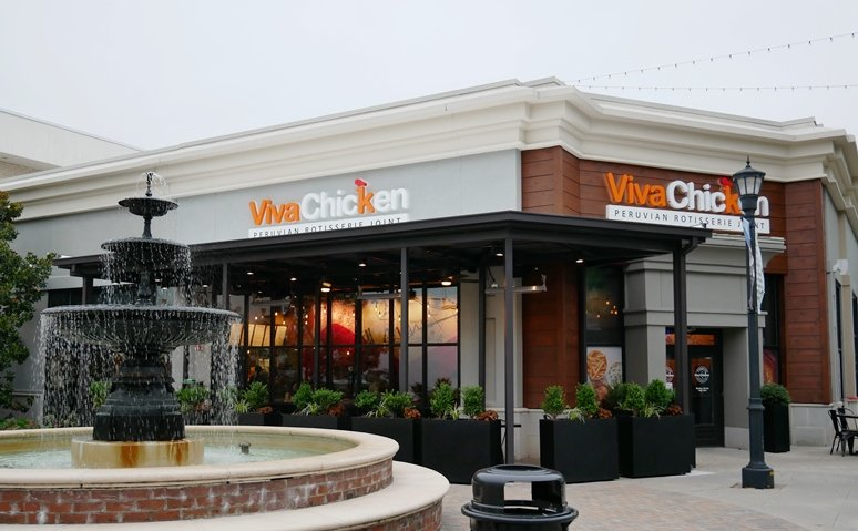 Front of Viva Chicken North Hills in Raleigh - nctriangledining.com