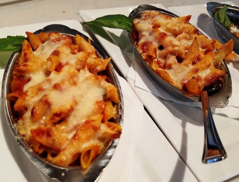 Baked pastas at MidiCi Italian Kitchen in Chapel Hill - nctriangledining.com