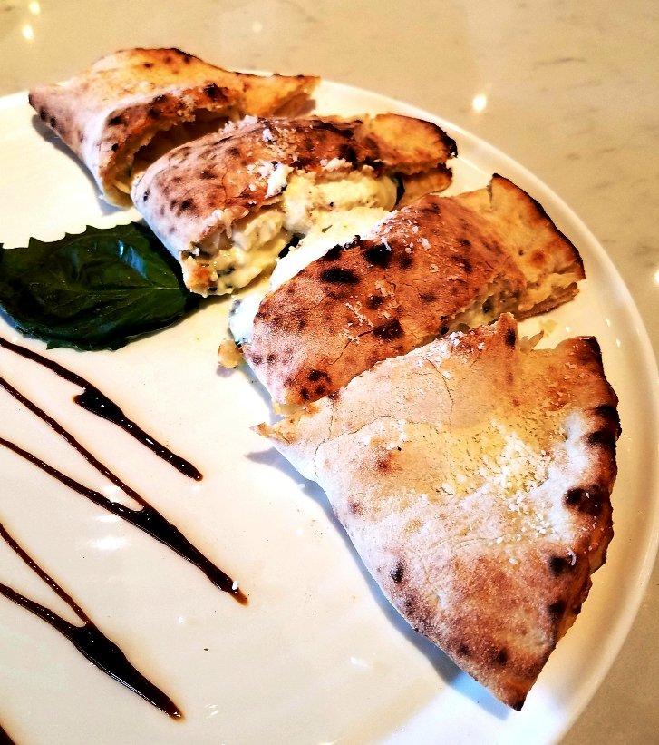 Calzone at MidiCi Italian Kitchen in Chapel Hill - nctriangledining.com