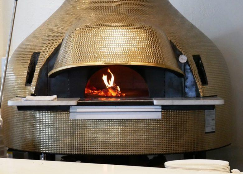 Beautiful pizza oven at MidiCi Italian Kitchen in Chapel Hill - nctriangledining.com