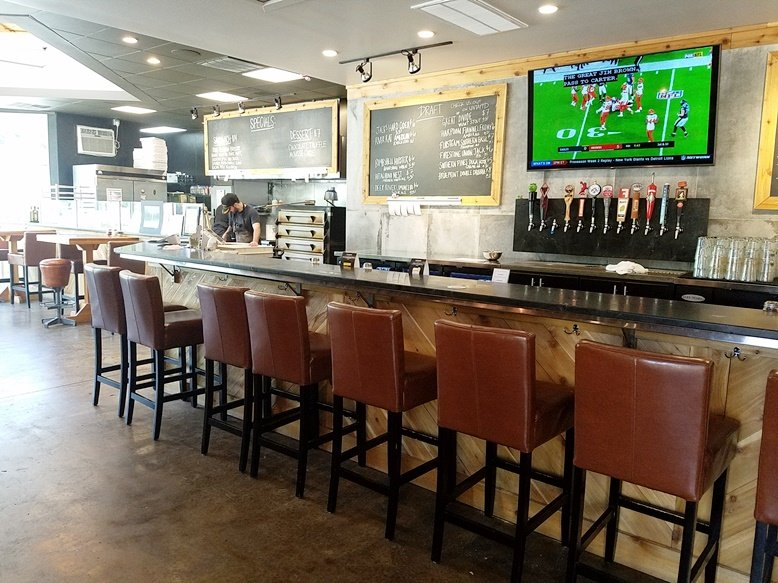 Beer bar at Brookside Market & Pizza in Raleigh - nctriangledining.com