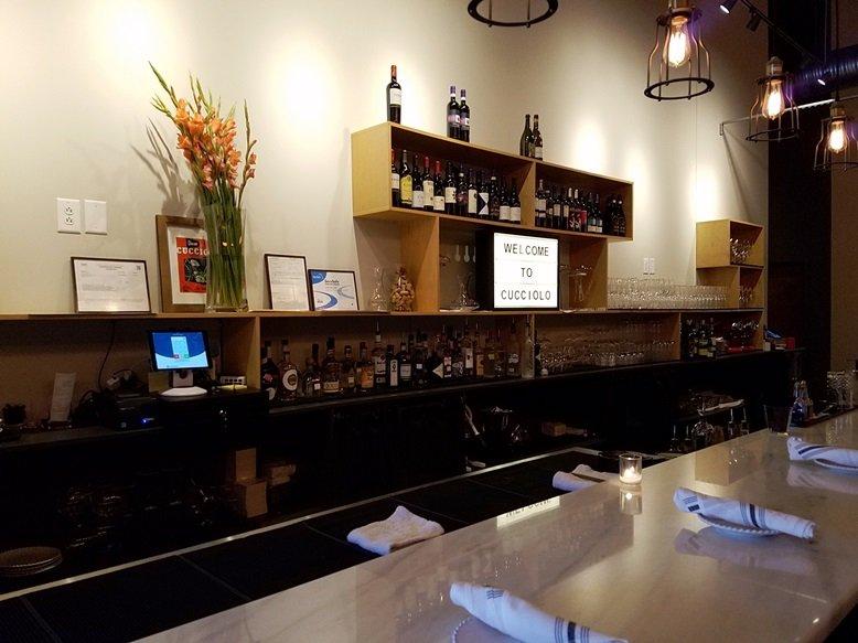 Bar at Cucciolo in Durham - nctriangledining.com