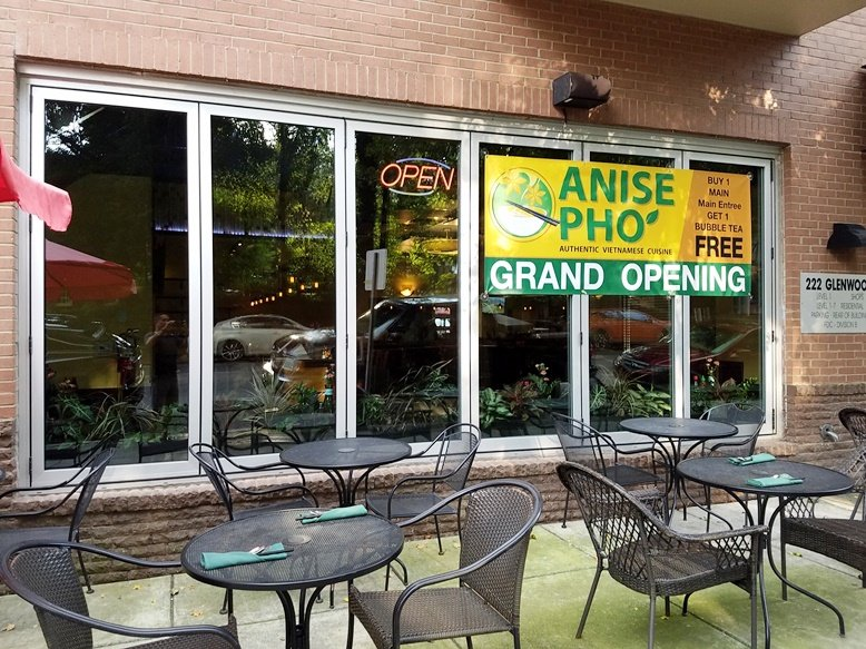Front of Anise Pho, Raleigh - nctriangledining.com