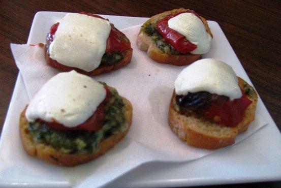 Crostini at Toast in Durham - nctriangledining.com