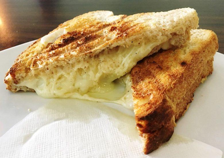 3 cheese panini at Toast Paninoteca in Durham - nctriangledining.com