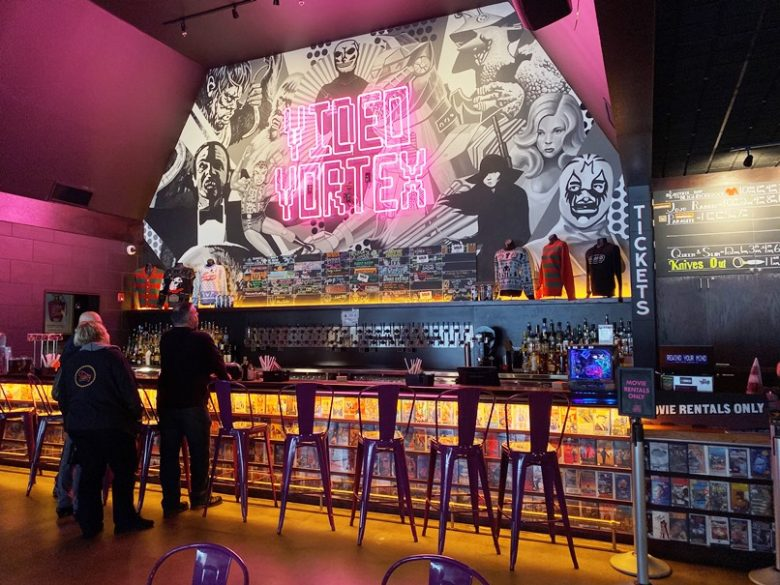 The Video Vortex at Alamo Drafthouse in Raleigh - nctriangledining.com