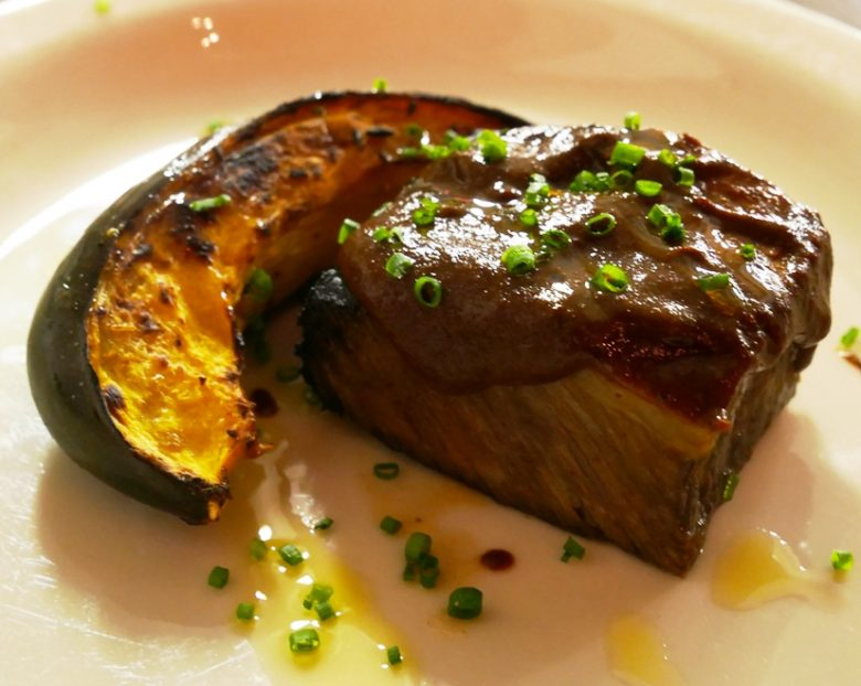 Blackened short rib and squash at Feast from the Furnace at Liberty Arts in Durham - nctriangledining.com