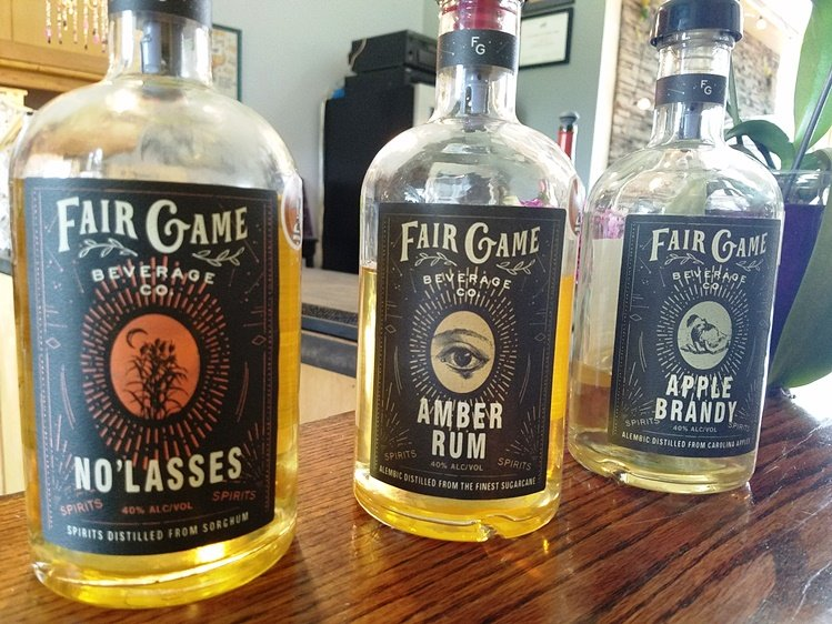 Bottles at Fair Game Beverage in Pittsboro - nctriangledining.com