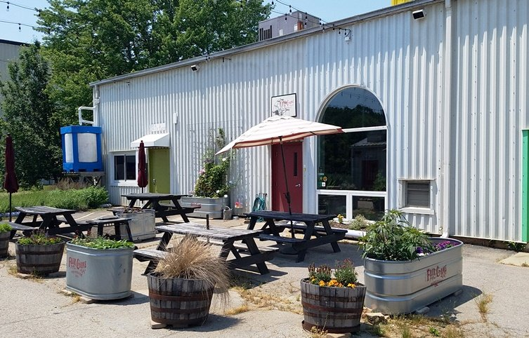 Front of Fair Game Beverage in Pittsboro - nctriangledining.com
