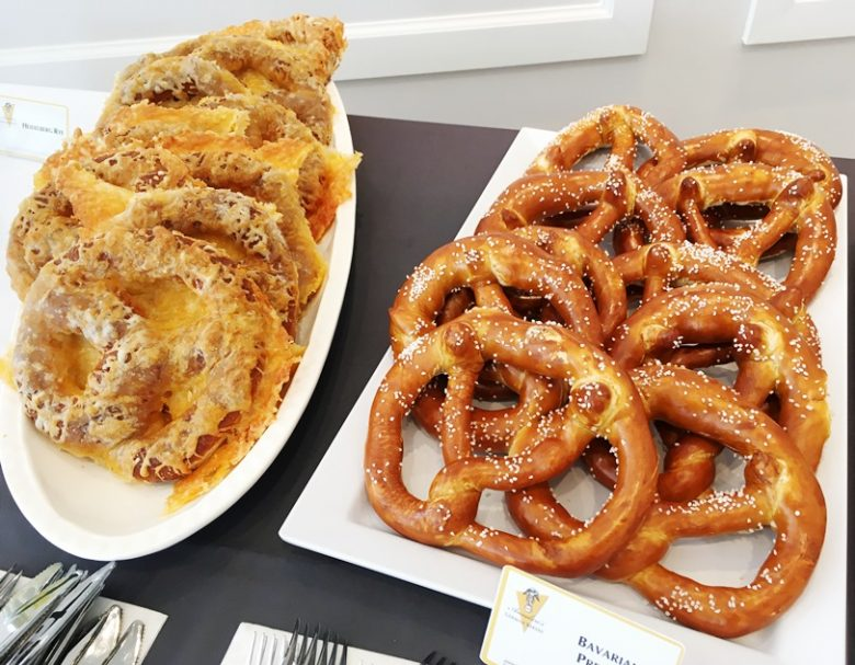 Cheese and Bavarian pretzels at Annelore's Germany Bakery, Cary - nctriangledining.com