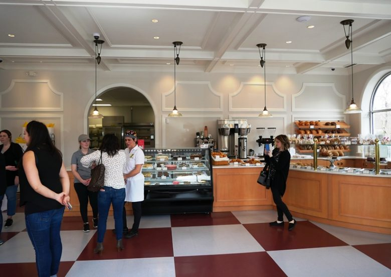 Interior of Annelore's Germany Bakery, Cary - nctriangledining.com