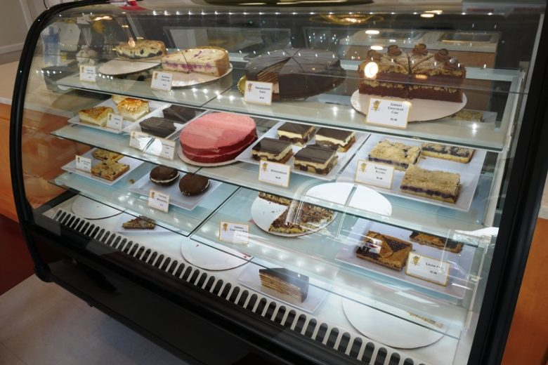 Pastry case at Annelore's Germany Bakery, Cary - nctriangledining.com