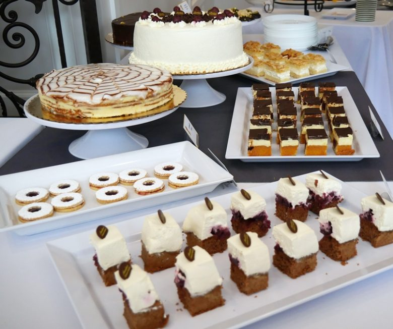 Beautiful cakes and pastries at Annelore's Germany Bakery, Cary - nctriangledining.com