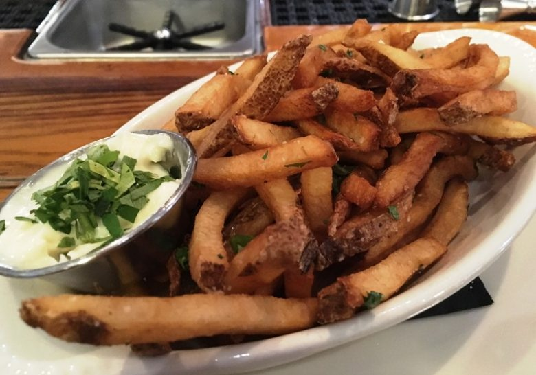 Fries with aioli at St. Roch in Raleigh - nctriangledining.com