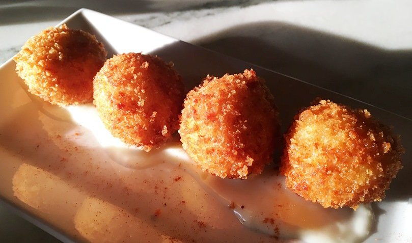 Croquetas at Barcelona Wine Bar, Raleigh - nctriangledining.com