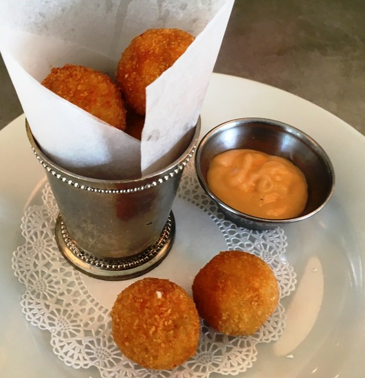 Croquettes at Coquette in Raleigh - nctriangledining.com