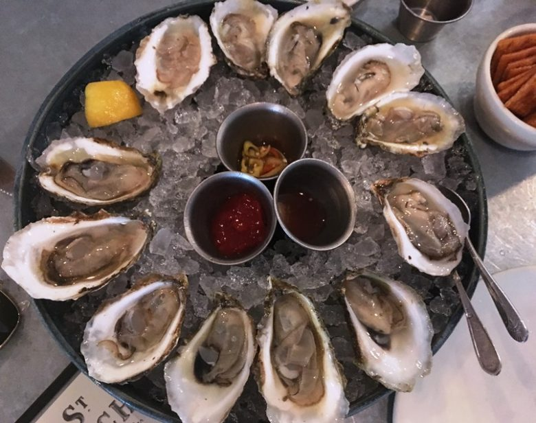 Oysters on ice at St. Roch in Raleigh - nctriangledining.com