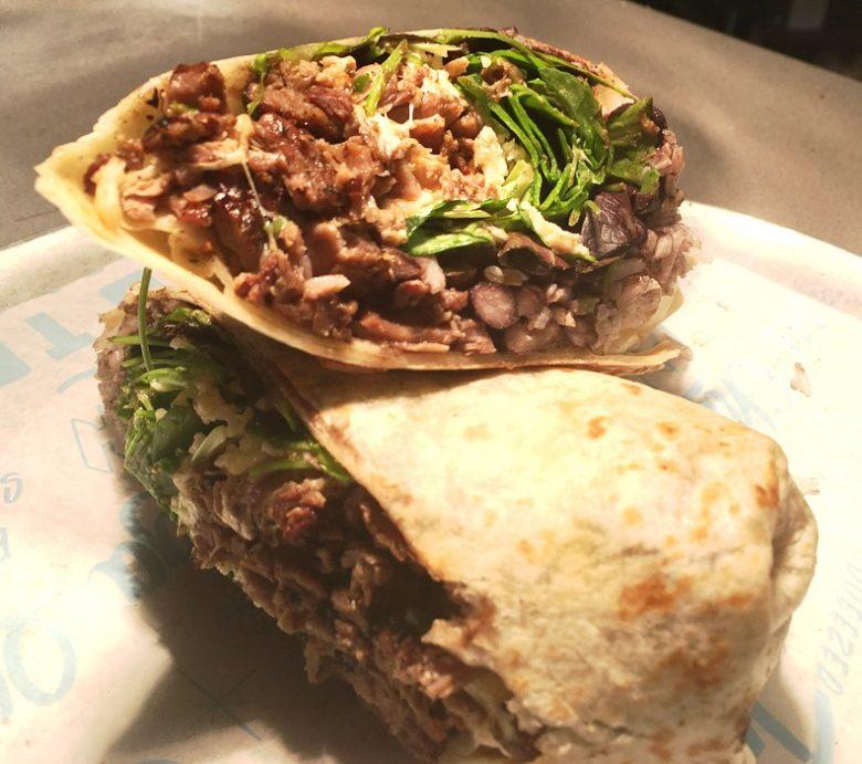 Steak burrito at Chido Taco in Raleigh - nctriangledining.com