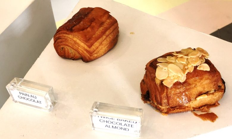 Croissant display at Layered Croissanterie - nctriangledining.com