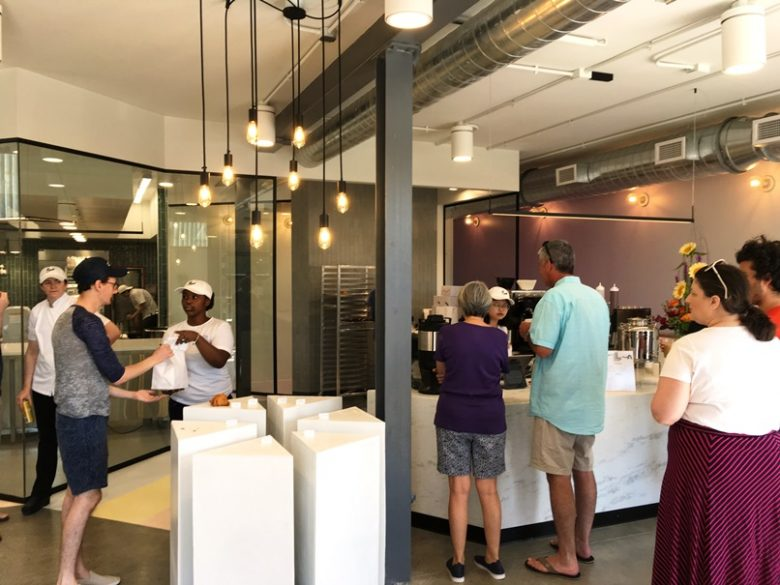 Crowd at Layered Croissanterie in Raleigh - nctriangledining.com