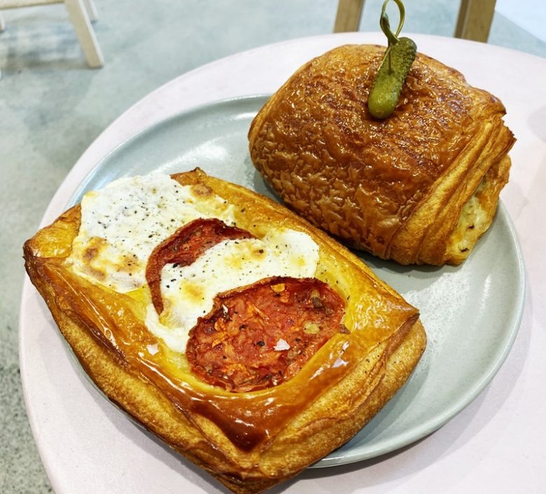 Breakfast hash danish at Layered Croissanterie - nctriangledining.com