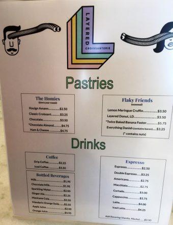 Layered Croissanterie menu - nctriangledining.com