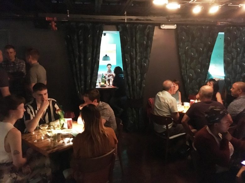 Private rooms at Kingfisher Bar in Durham - nctriangledining.com