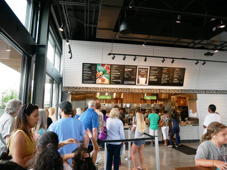 Shake Shack at Waverly Place in Cary - nctriangledining.com