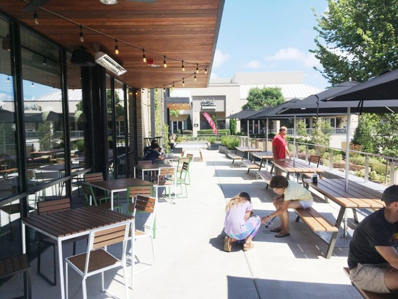 Patio at Shake Shack in Cary - nctriangledining.com