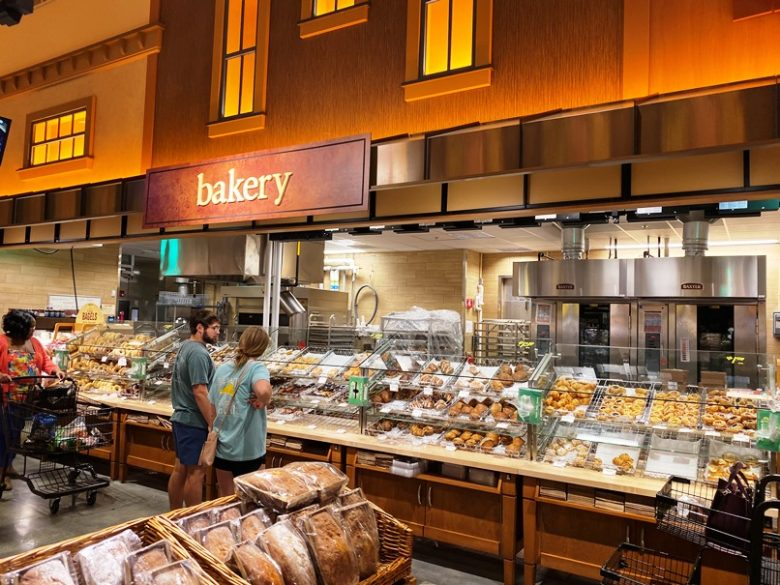 Bakery area at Wegmans in Raleigh - nctriangledining.com