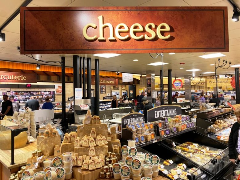 Cheese shop at Wegmans in Raleigh - nctriangledining.com