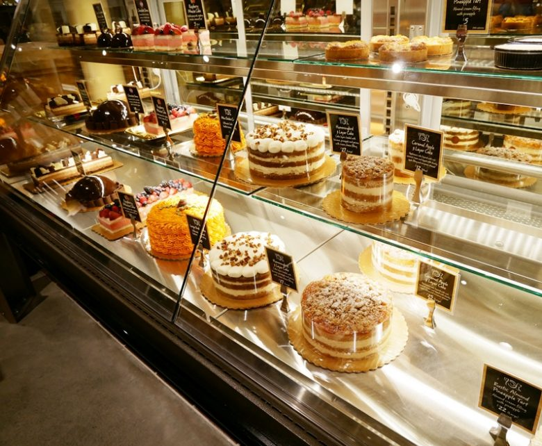 Cake and pastry area at Wegmans in Raleigh - nctriangledining.com