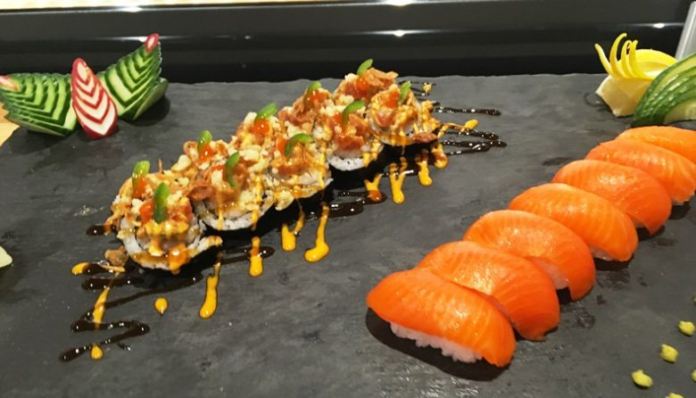 Sushi at Wegmans in Raleigh - nctriangledining.com