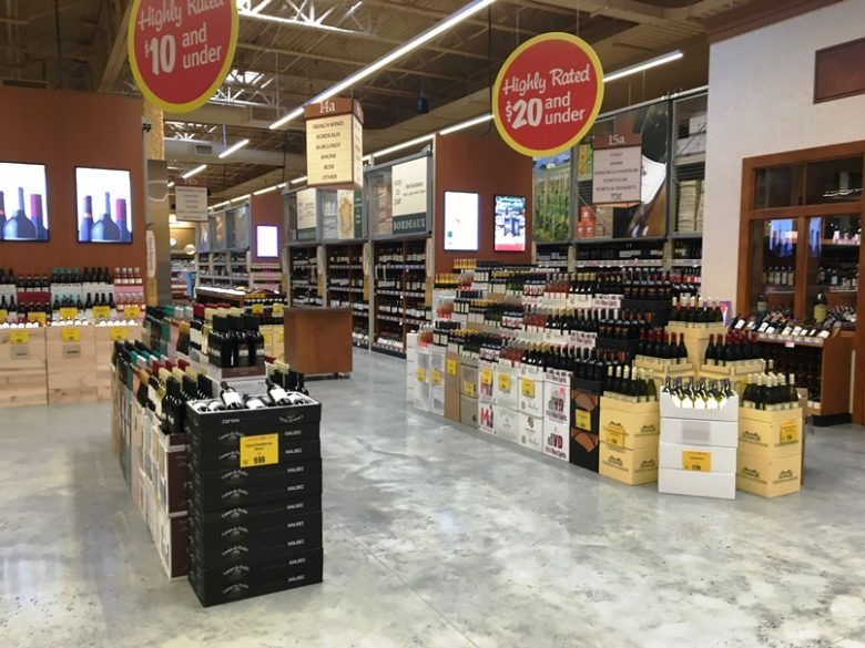 Retail wine at Wegmans in Raleigh - nctriangledining.com