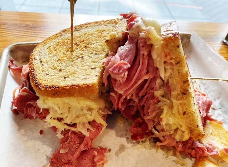The Johnny (pastrami) at Reuben's NY Deli in Raleigh - nctriangledining.com