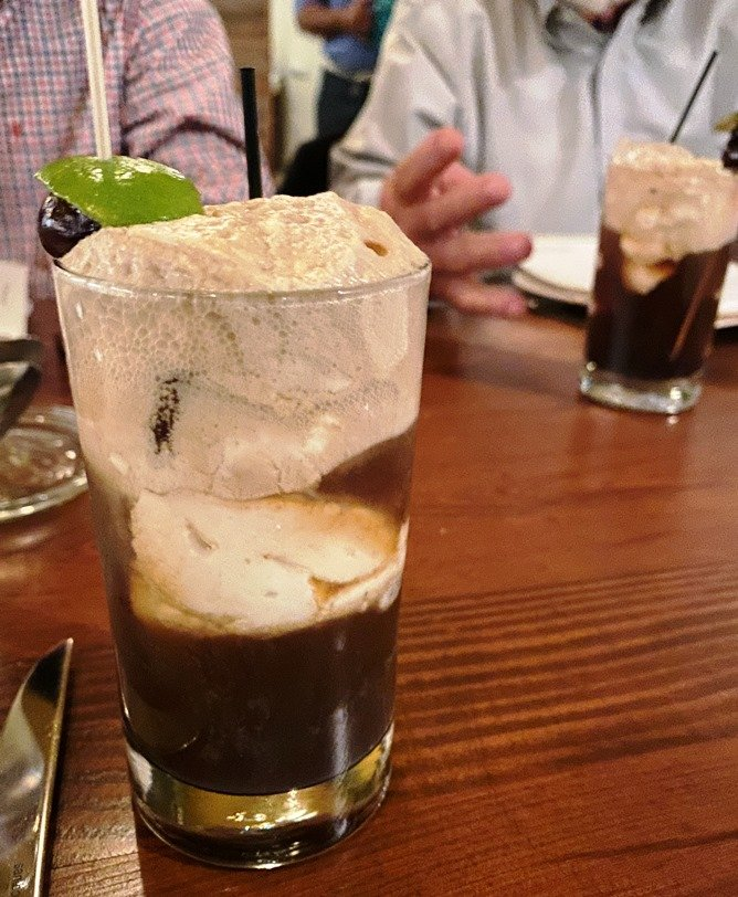 Fernet float at the Chef and the Farmer in Kinston, NC - nctriangledining.com