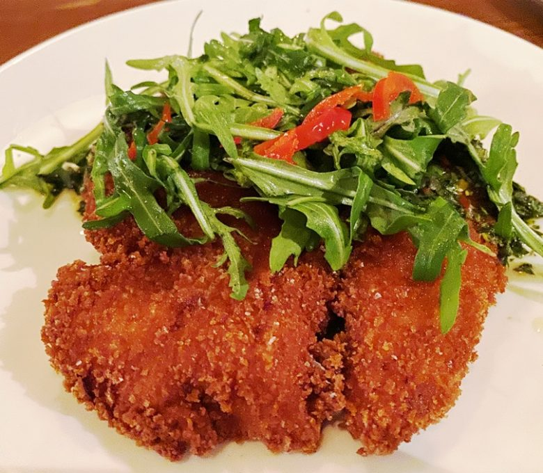 Turkey milanese at the Chef and the Farmer in Kinston, NC - nctriangledining.com