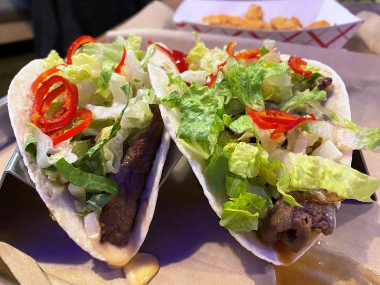 Bulkogi tacos at KoKyu Southpoint in Durham - nctriangledining.com