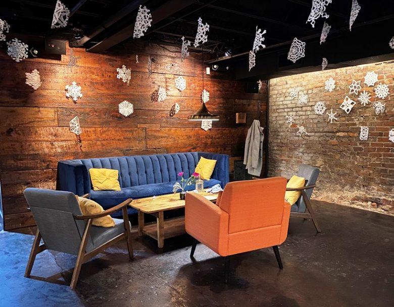 Lounge area at Kingfisher Bar in Durham - nctriangledining.com