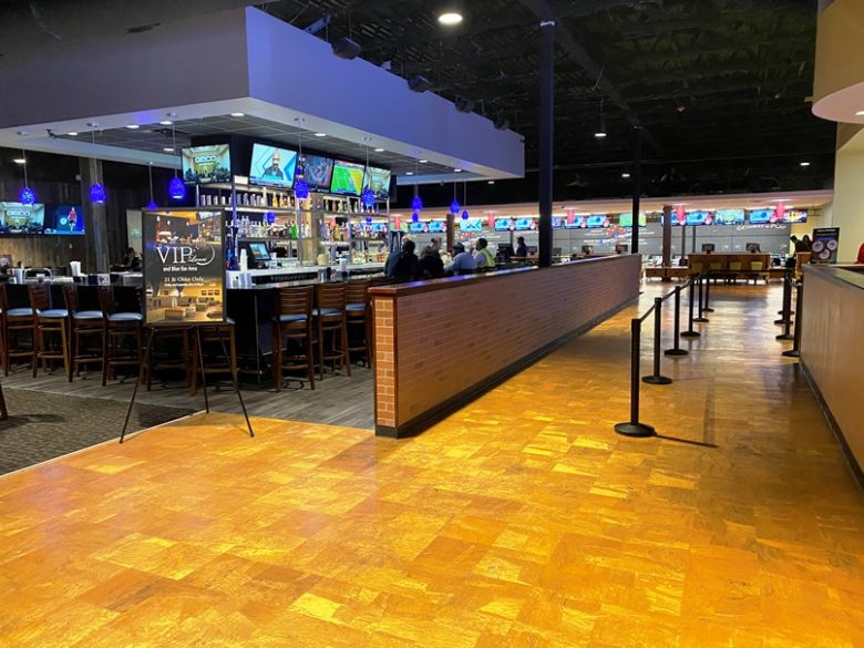 Bar at Stars and Strikes in Raleigh -nctriangledining.com