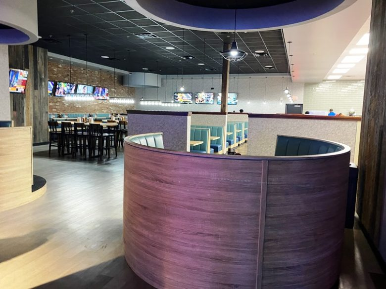 Restaurant at Stars and Strikes in Raleigh -nctriangledining.com