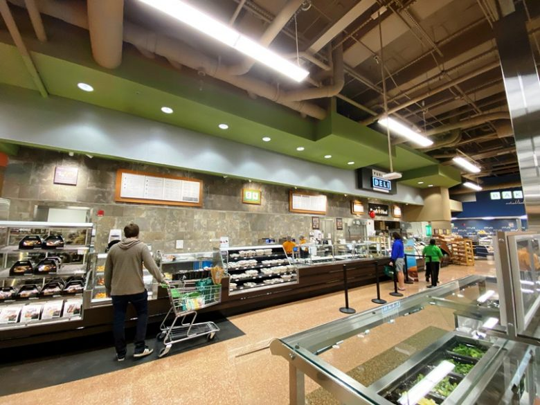 Deli area at Publix on Peace Street in Raleigh - nctriangledining.com