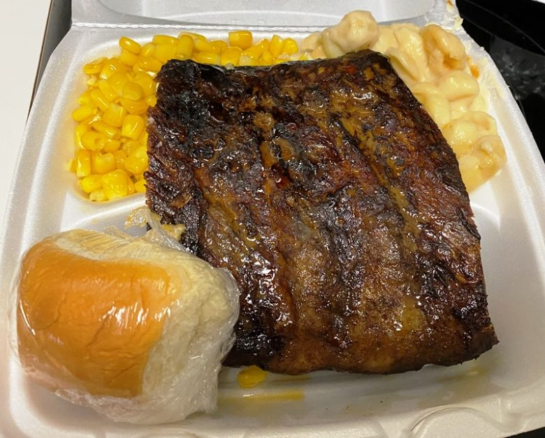 Publix smokehouse ribs for lunch - nctriangledining.com