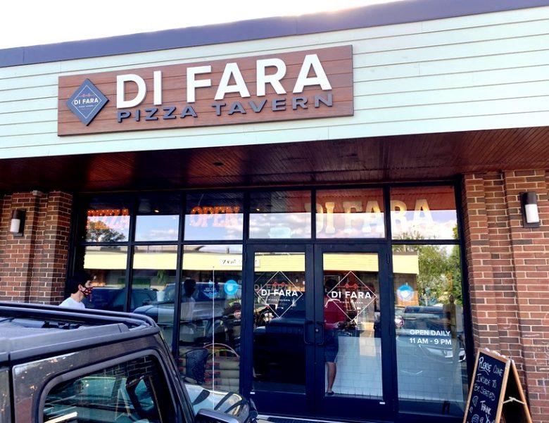Front of Di Fara Pizza Tavern in Cary - nctriangledining.com