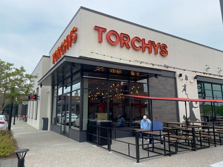 Front of future Torchy's Tacos at Midtown East in Raleigh - nctriangledining.com