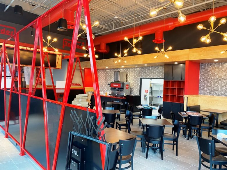 Interior of future Torchys Tacos at Midtown East in Raleigh - nctriangledining.com