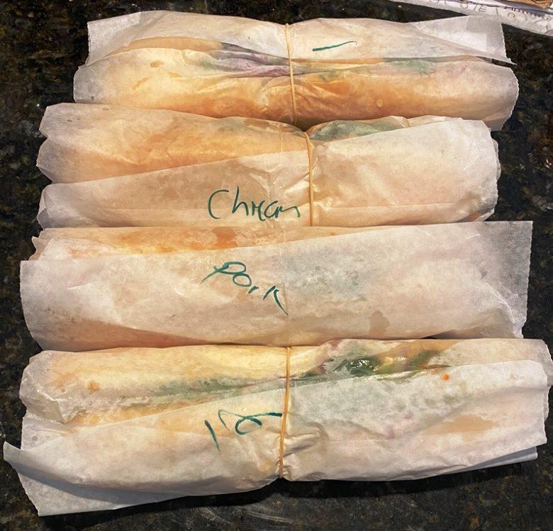 Banh mi sandwiches at Banh Mi Saigon Sandwiches in Greensboro - nctriangledining.com