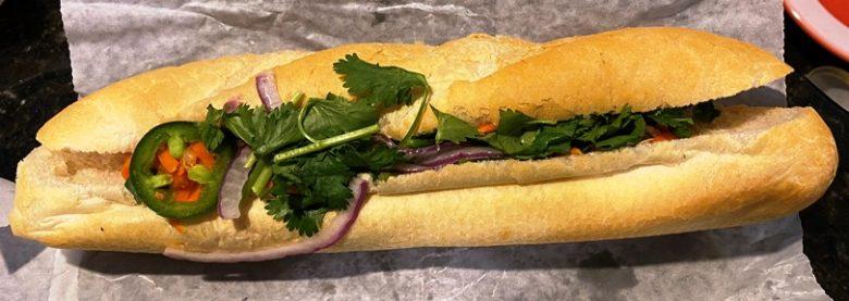 Sandwich at Banh Mi Saigon Sandwiches in Greensboro - nctriangledining.com