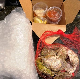 Oyster kit from Locals Oyster Bar in Raleigh - nctriangledining.com